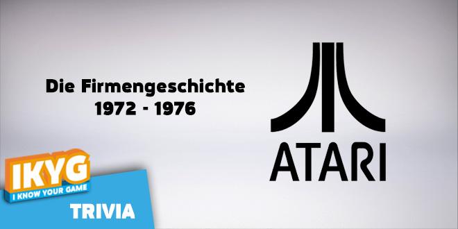 Atari – Die Firmengeschichte – Teil 1