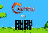 Game-Mash-Up-Video – Contra vs. Duck Hunt