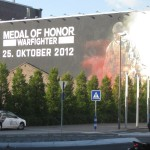 gamescom 2012 parkplatz medal of honor wand