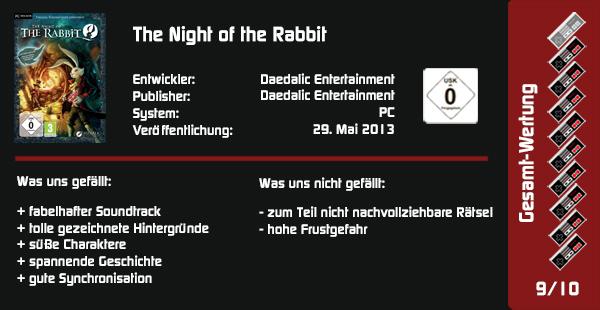 The Night Of The Rabbit Die Kleinsten Sind Die Größten Ikyg