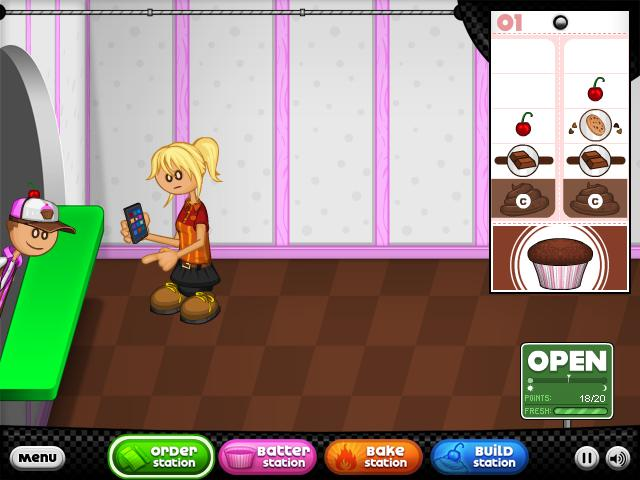 papas cupcakeria spielen