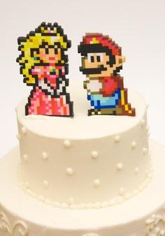 Perler Bead Sprites Kuchen Figuren