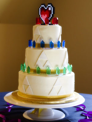 Triforce Cake