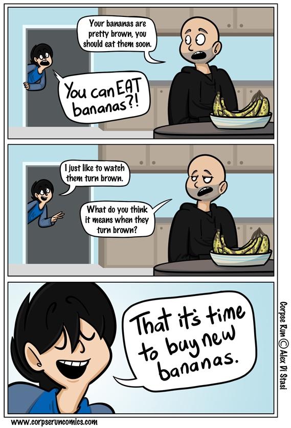 Bananen-Comics
