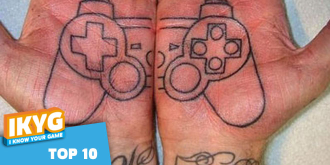 Top 10 – Die besten Gaming-Tattoos