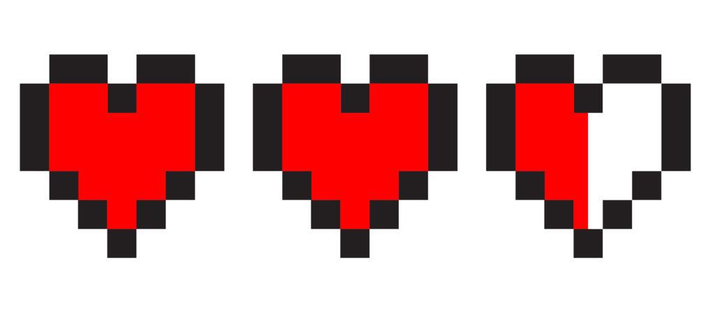 Pixel Herzen