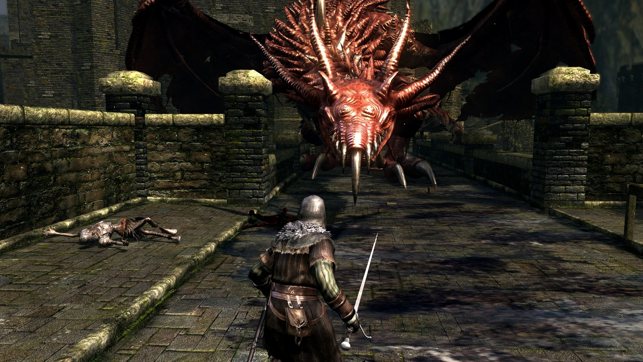 Hellkite Dragon Dark Souls