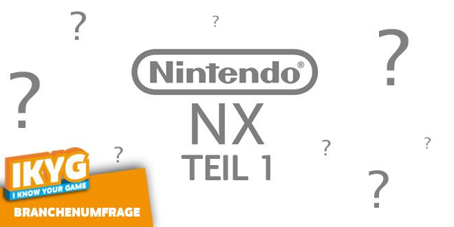 Branchenumfrage Nintendo NX Teil 1