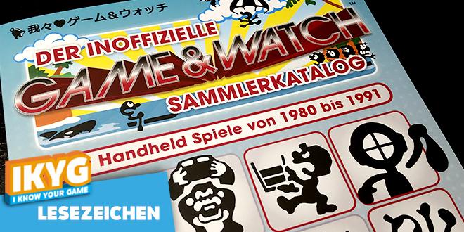 Lesezeichen – Der inoffizielle Game & Watch Sammlerkatalog
