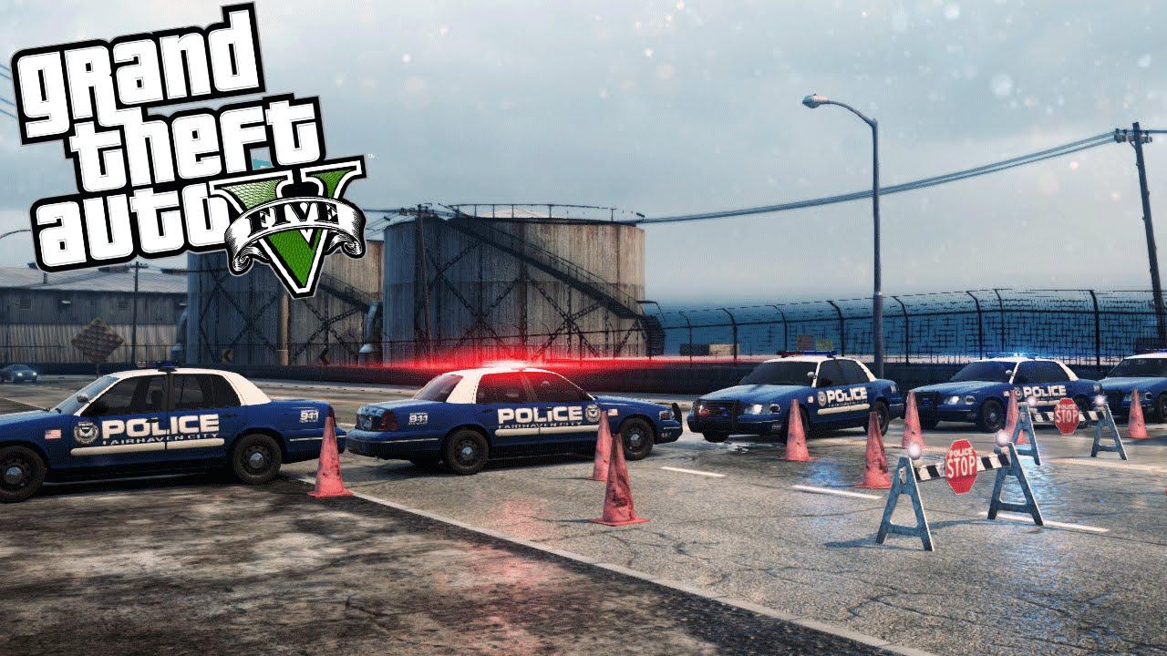 GTA V Roadblock