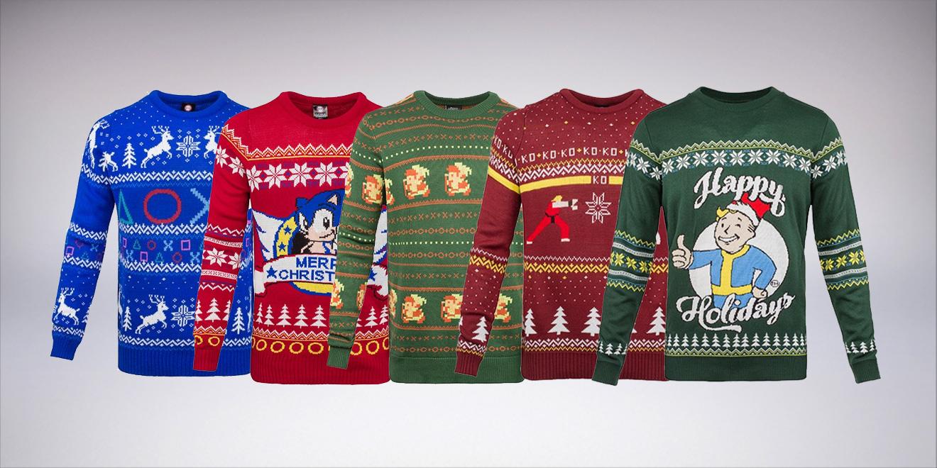 Geekige Strick-Pullover - Da kann Weihnachten kommen! - IKYG