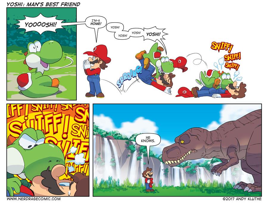 Fremder Yoshi-Comics