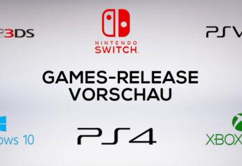 Games-Release-Vorschau - Neuerscheinungen Games
