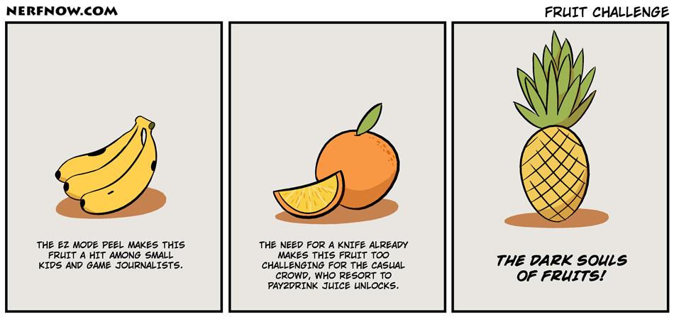 Fruit Souls-Comics