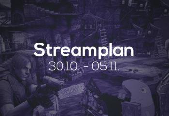 Streamplan der Woche KW 44 2017