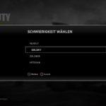 Call of Duty WWII schwierigkeit wählen