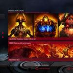 Doom für die Switch Multiplayer Menü