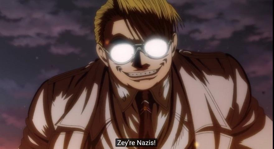 Hellsing Abrdiged Episode 8 Zey're nazis