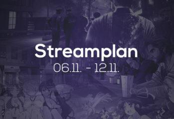 Streamplan der Woche - 6. bis 12. November 2017