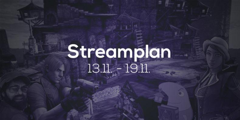 Streamplan der Woche – 13. bis 19. November 2017