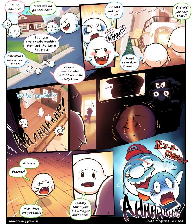 Creepymas-Comics