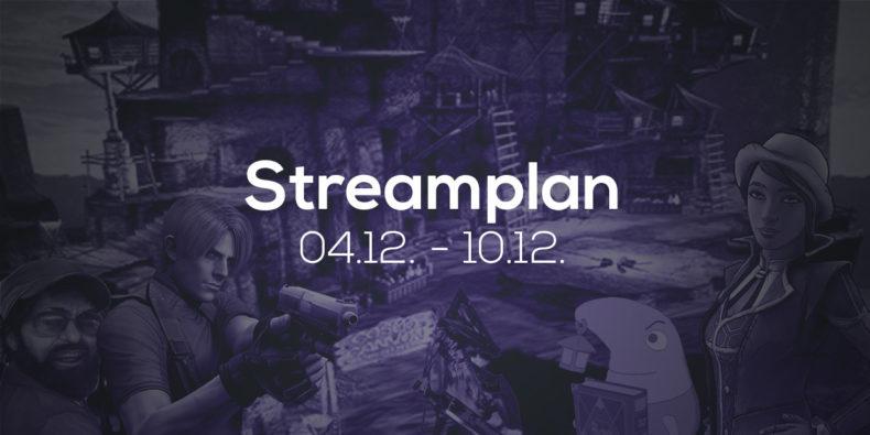 Streamplan der Woche – 4. bis 10. Dezember 2017