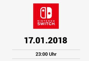 Nintendo Switch Ankündigung