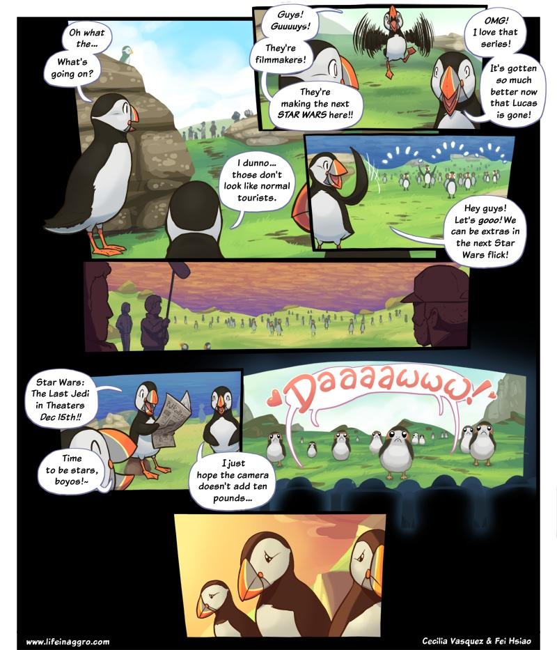 Sad Porgs are sad-Comics