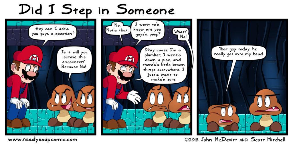 Goomba - Pilz oder Kot-Comics