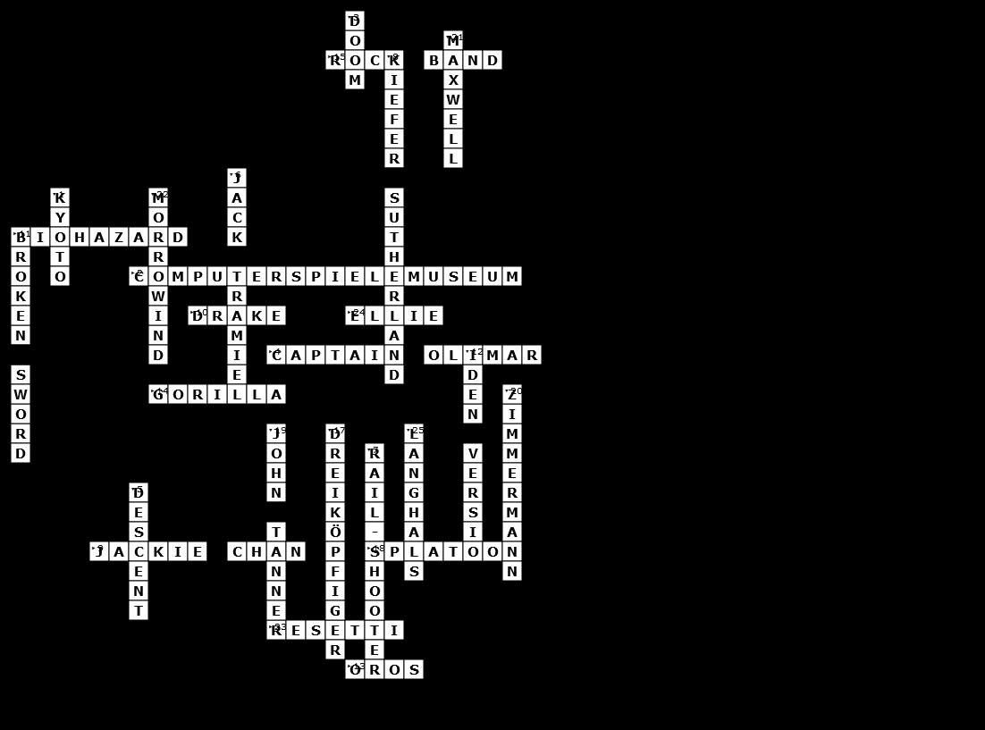 Die Lösung Kreuzworträtsel