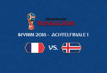 IKYWM 2018 - Achtelfinale 1 - Frankreich vs. Island
