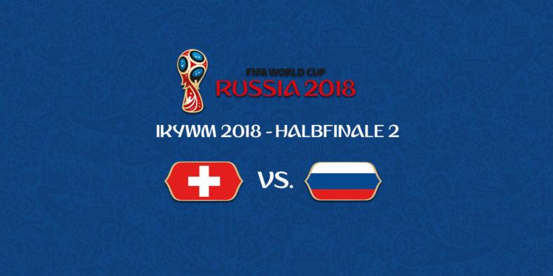 IKYWM 2018 - Halbfinale 2 - Schweiz vs. Russland