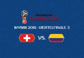 IKYWM 2018 - Viertelfinale 3 - Schweiz vs. Kolumbien