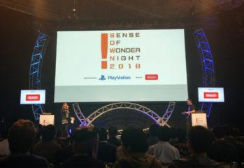 Die Sense of Wonder Night auf der Tokyo Game Show 2018