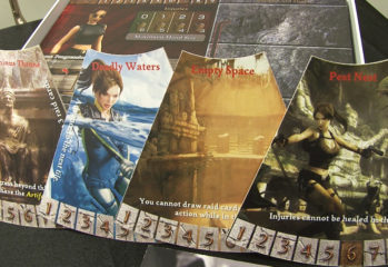 Tomb Raider Board Game