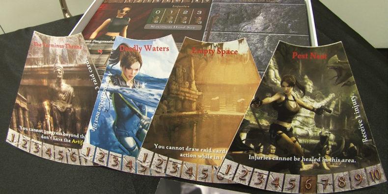 Tomb Raider Board Game