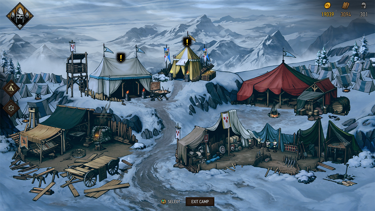 Thronebreaker Camp