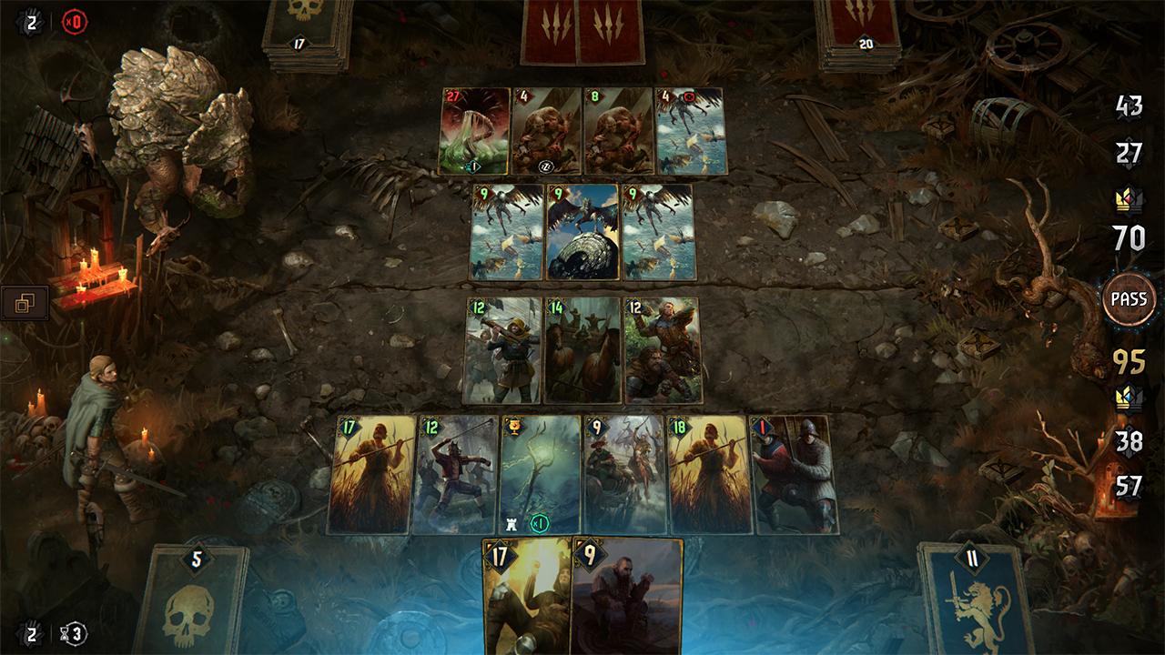 Thronebreaker Kampf