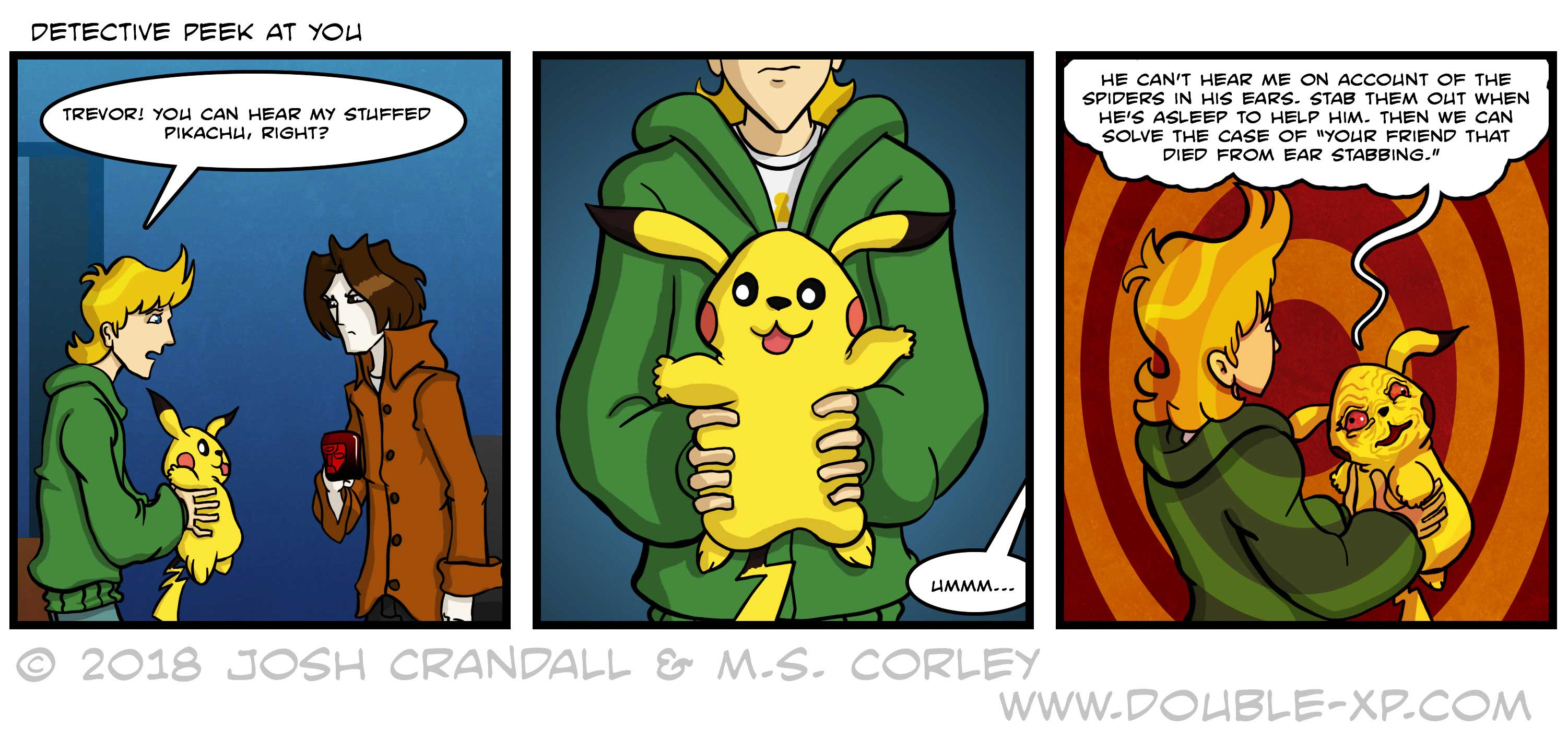 Mörderdetektiv-Pikachu-Comics
