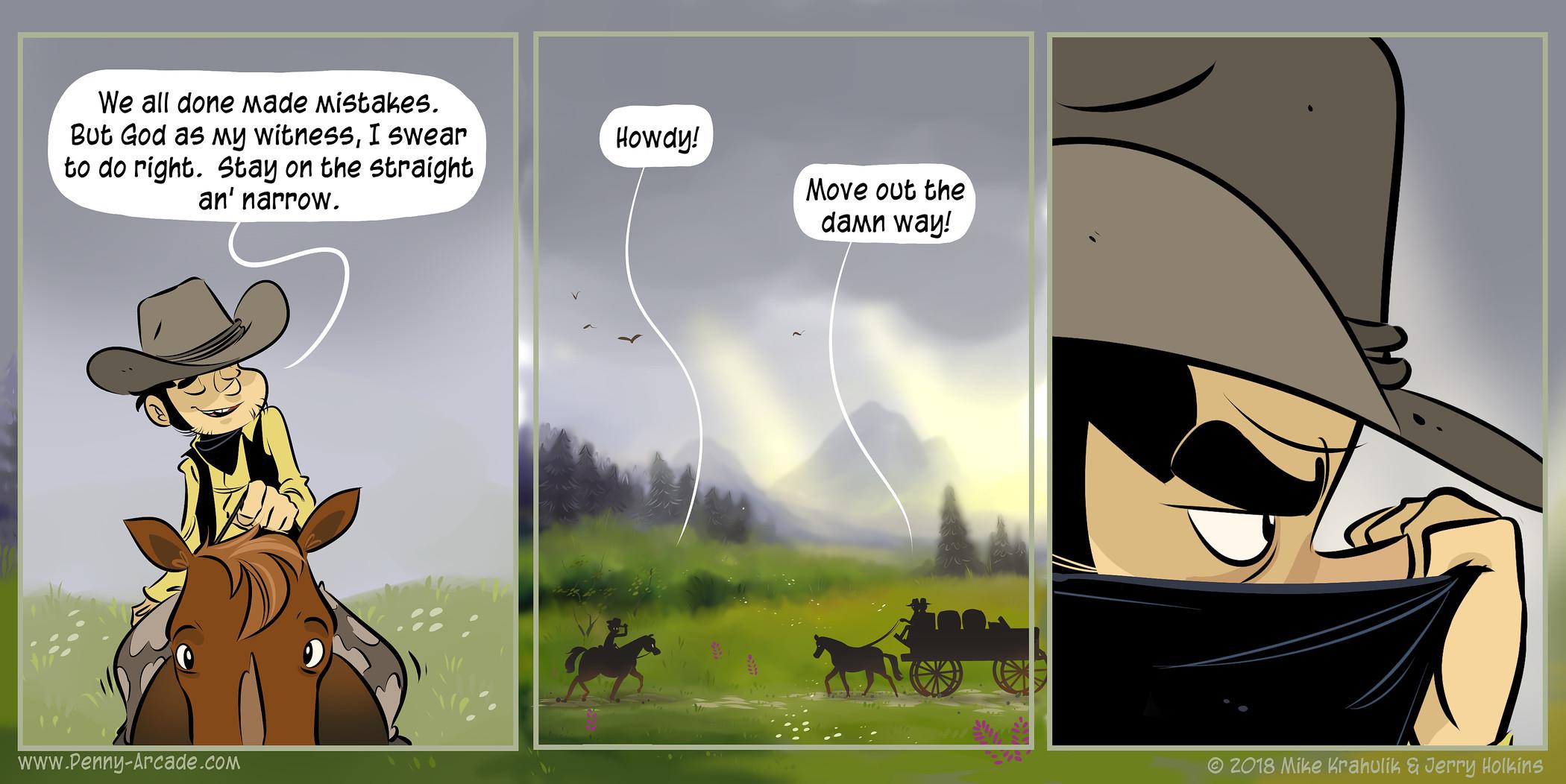 Unrechtschaffend-Comics