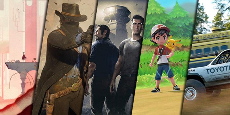 Best of 2018 - Unsere Games des Jahres