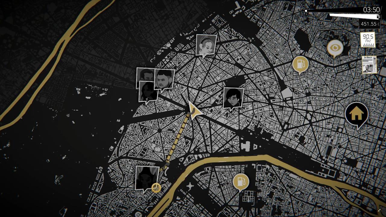 Night Call Map