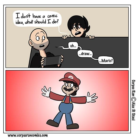 Mari-Oh-Comics