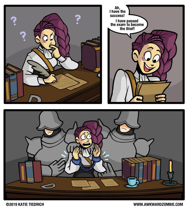 Rollenspielenormen-Comics