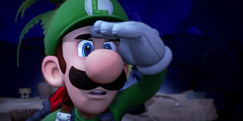 Luigi looking