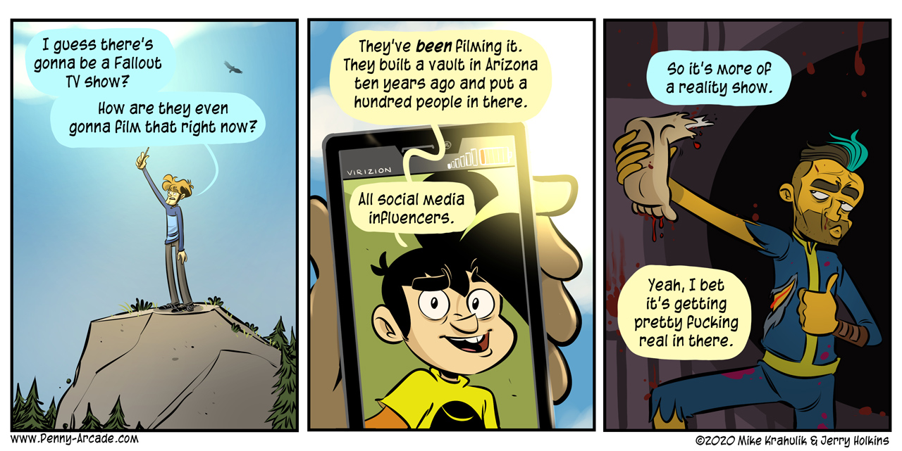 FalloutTV-Comics