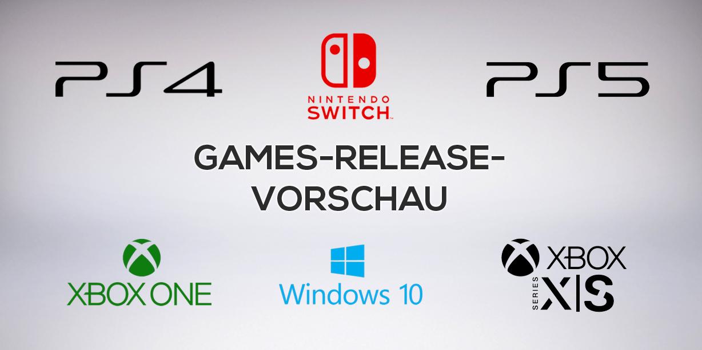Games-Release-Vorschau – November 2020