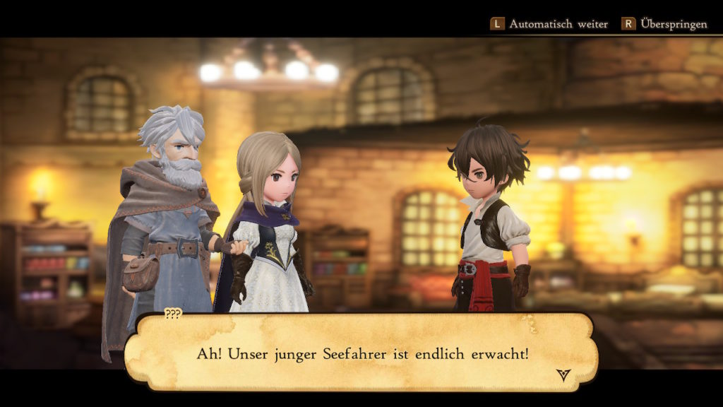 Bravely Default II Story
