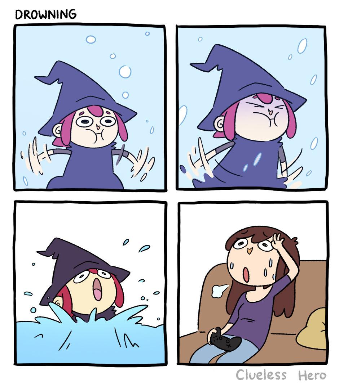 Drowning-Comics