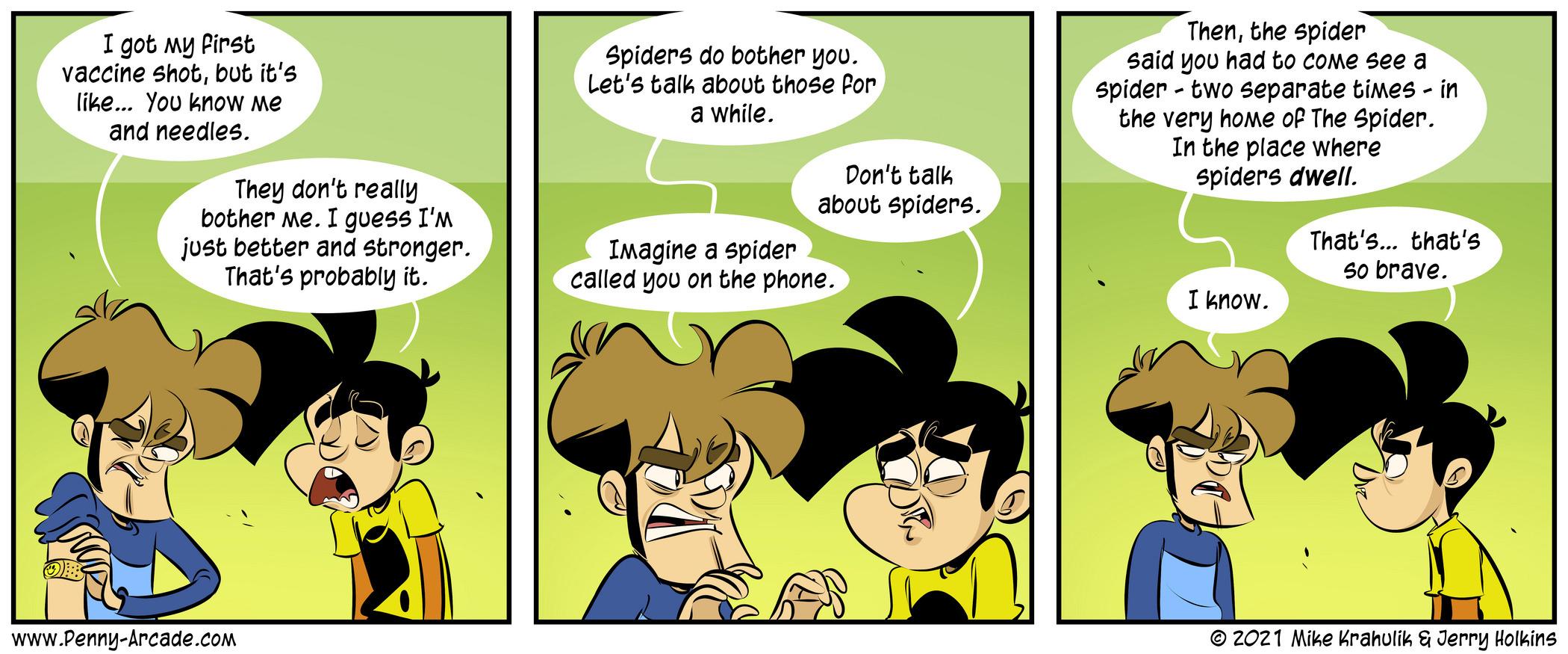 Spidershot-Comics